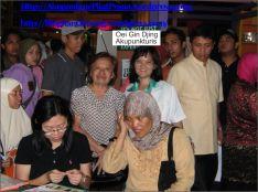 OEI GIN DJING, AKUPUNKTURIS, Talk Show di Senayan
