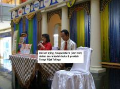 Seminar dan bedah buku Terapi pijat Telinga