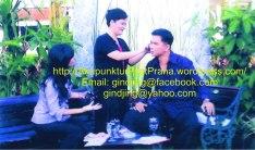 Oei Gin Djing, Akupunktur bersama Krisna Murti dan Deti dalam suatu acara televisi