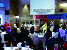 Seminar di Balai Kota Bogor dengan tema Kartini Tak Pernah Mati