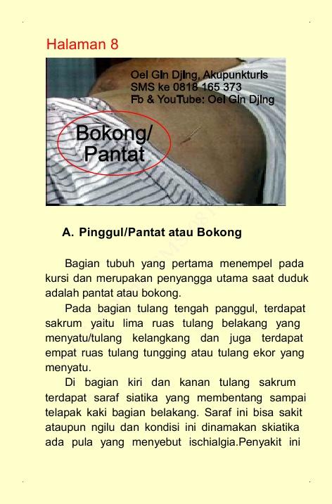 Untuk terapi harap SMS ke : 0818 165 373 (di Sunter-Jakarta Utara-Indonesia)