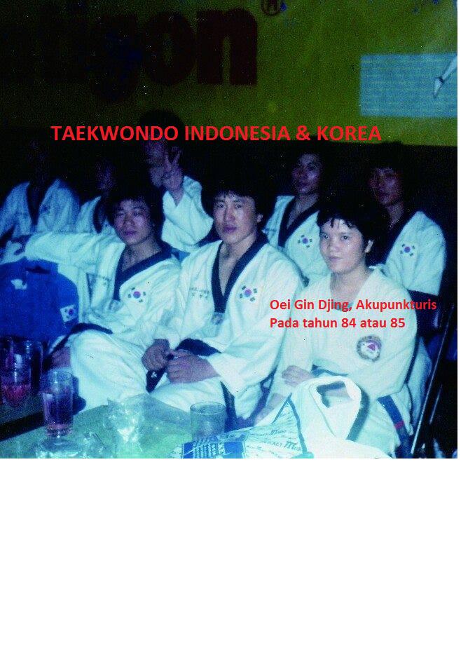 Nostalgia Taekwondo pada tahun 1984 atau 1985