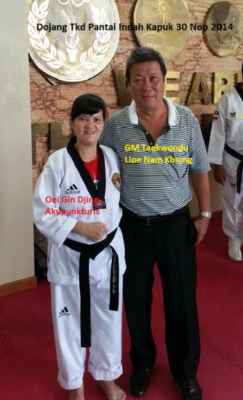 Setelah hampir 37 tahun berpisah, bertemu kembali dengan guru Taekwondo pertamaku
